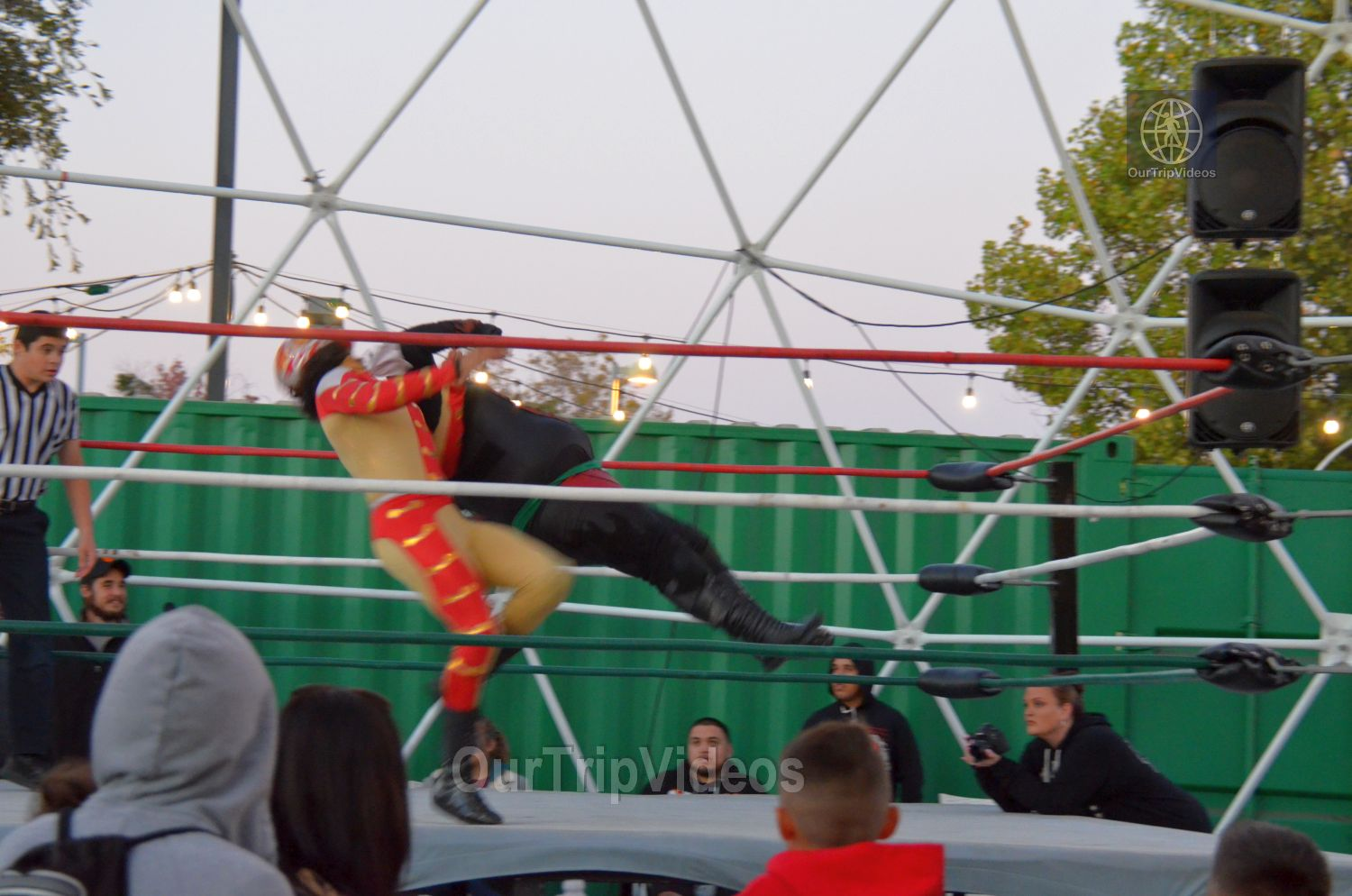 Throwdown at the Thunderdome (Luchador Wrestling), Fremont, CA, USA - Picture 11 of 25