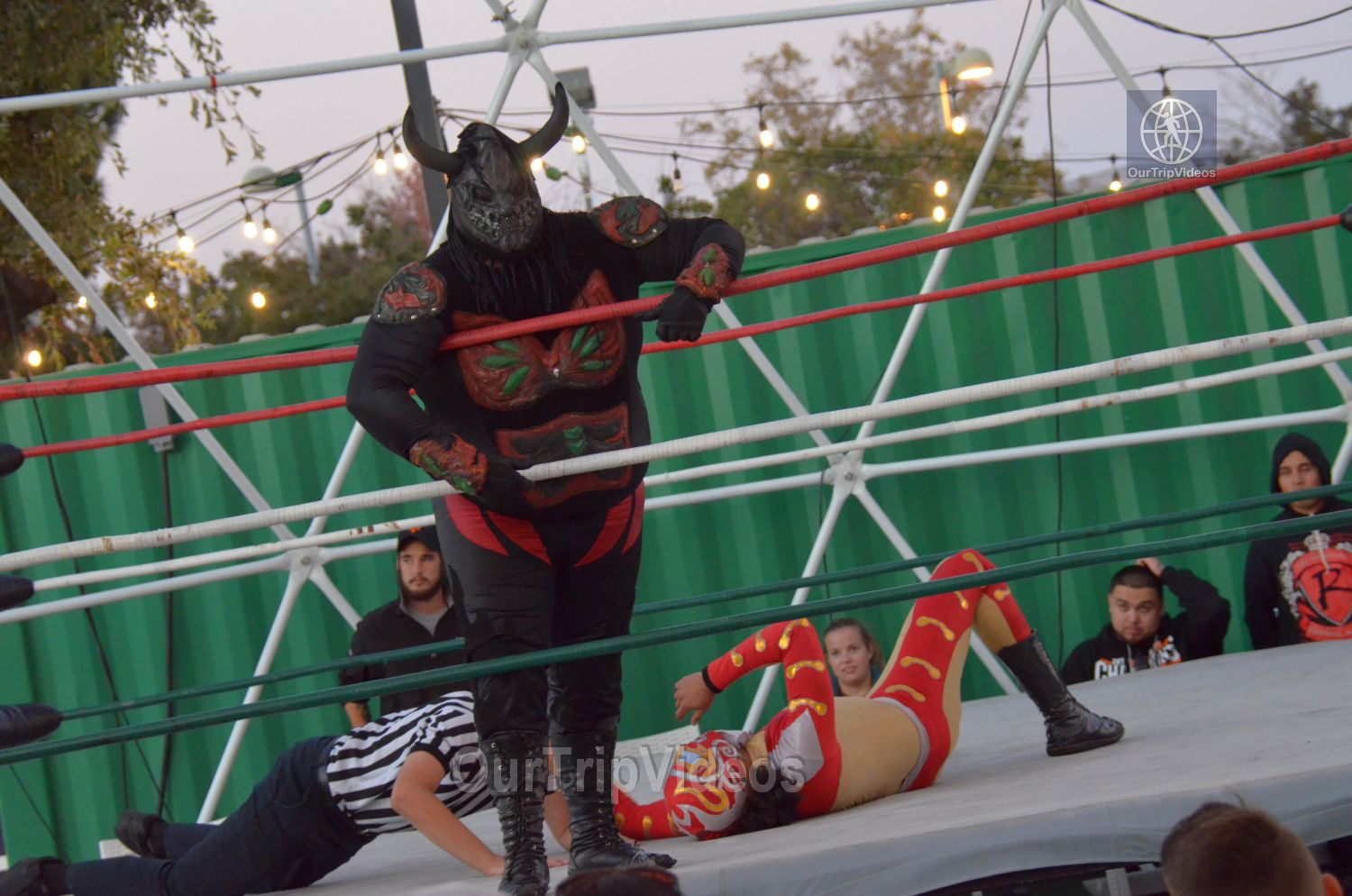 Throwdown at the Thunderdome (Luchador Wrestling), Fremont, CA, USA - Picture 12 of 25