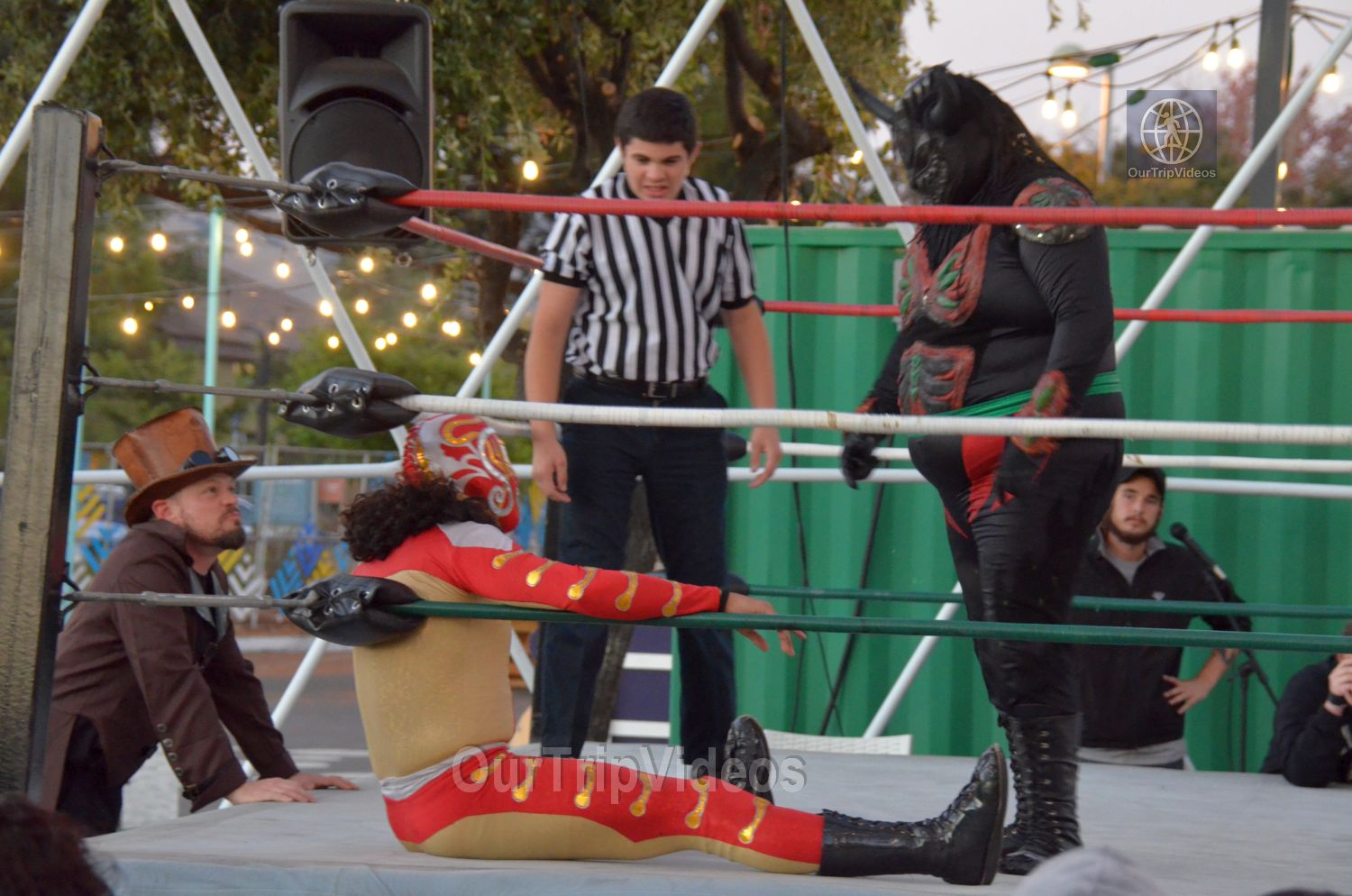 Throwdown at the Thunderdome (Luchador Wrestling), Fremont, CA, USA - Picture 13 of 25