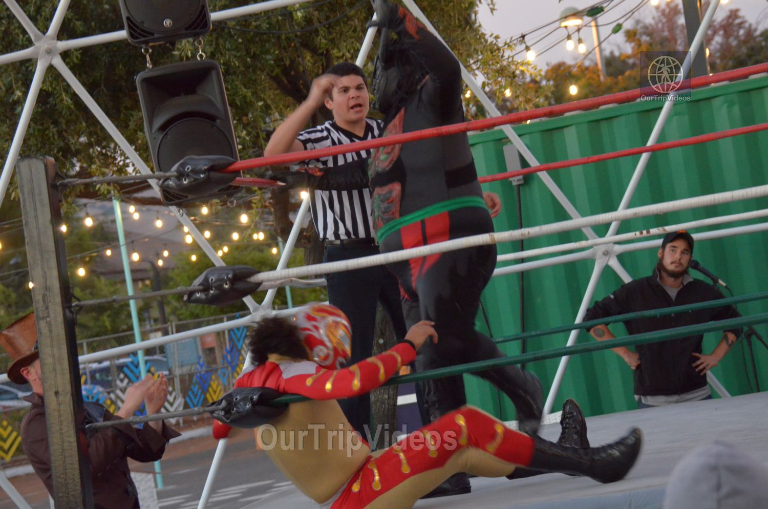 Throwdown at the Thunderdome (Luchador Wrestling), Fremont, CA, USA - Picture 14 of 25