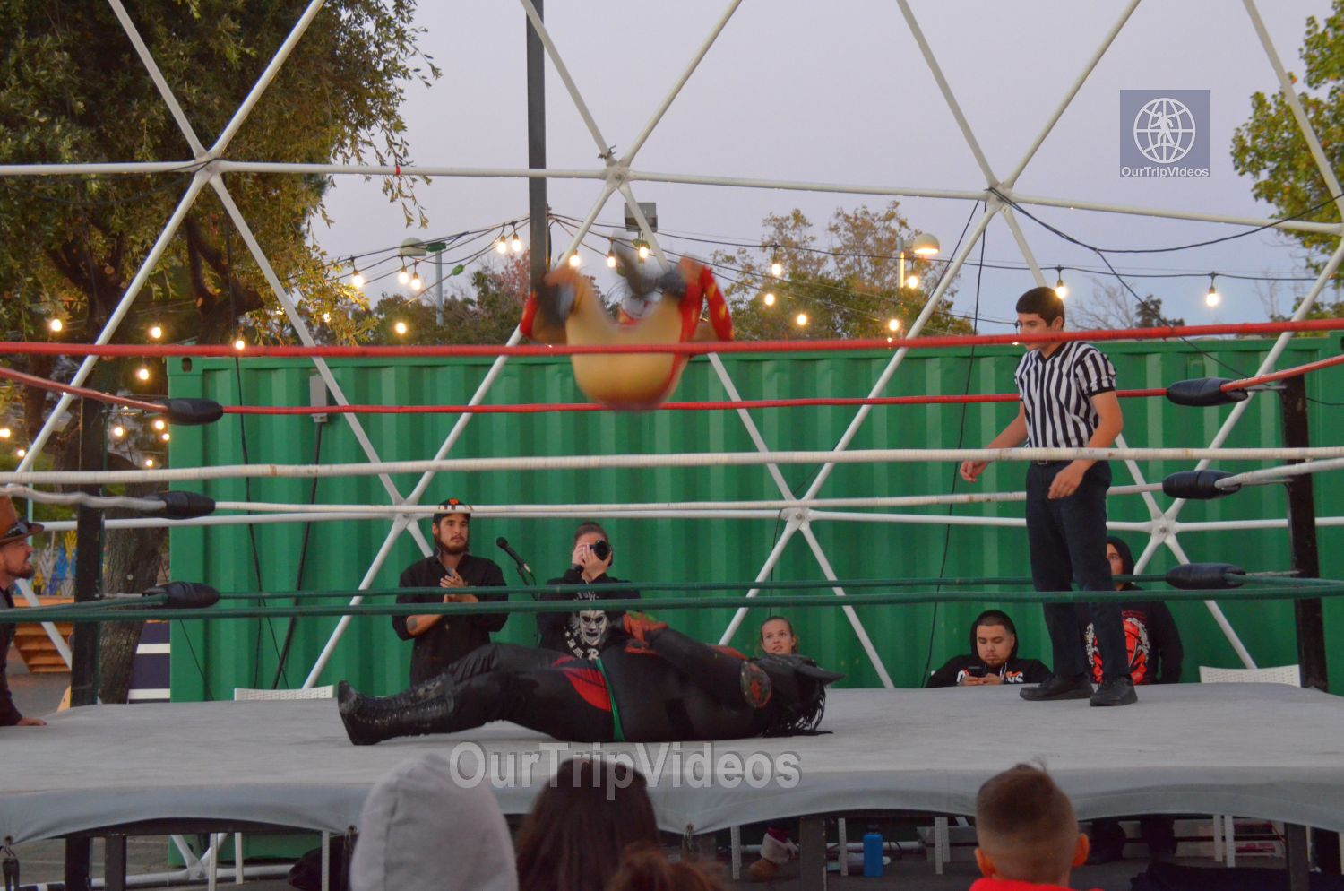 Throwdown at the Thunderdome (Luchador Wrestling), Fremont, CA, USA - Picture 15 of 25