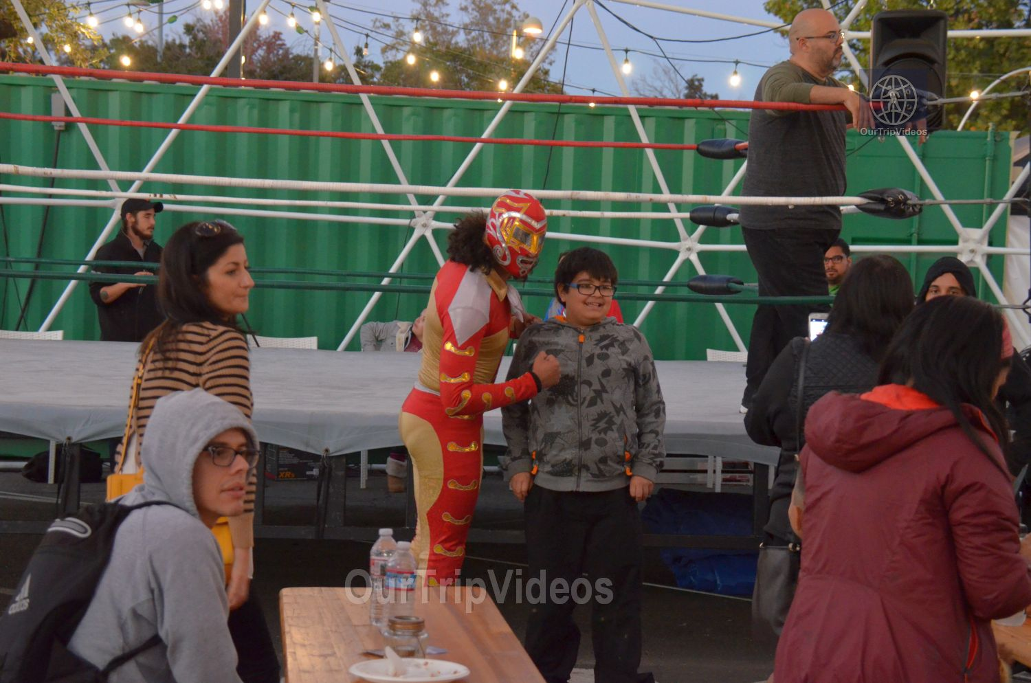 Throwdown at the Thunderdome (Luchador Wrestling), Fremont, CA, USA - Picture 18 of 25