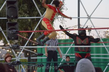 Throwdown at the Thunderdome (Luchador Wrestling), Fremont, CA, USA - Picture 5
