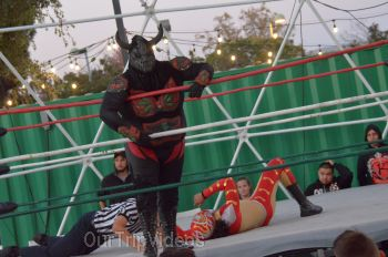 Throwdown at the Thunderdome (Luchador Wrestling), Fremont, CA, USA - Picture 12