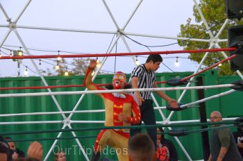 Throwdown at the Thunderdome (Luchador Wrestling), Fremont, CA, USA - Picture 17