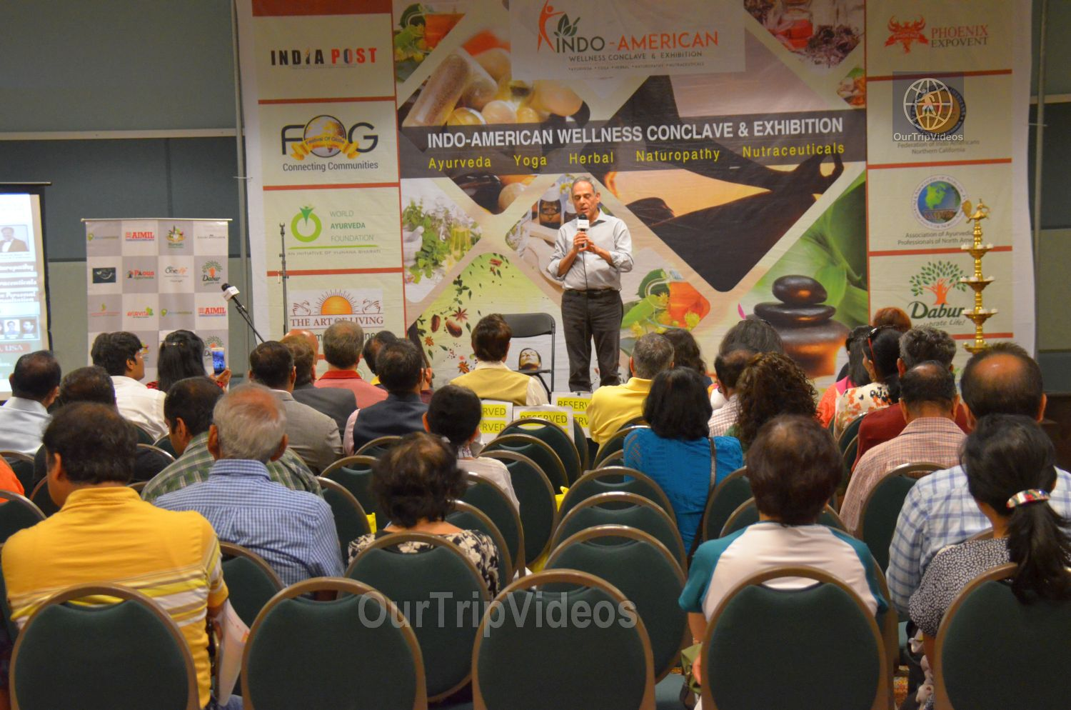 Indo-American Wellness Conclave and Exhibition, Santa Clara, CA, USA - Picture 1 of 25
