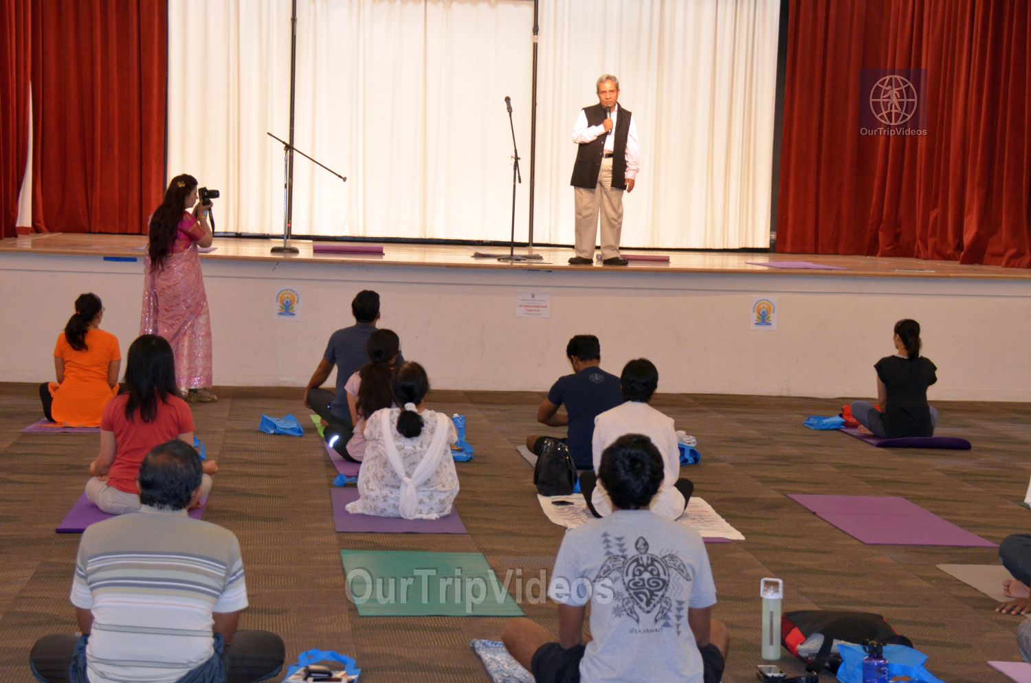 International Yoga Day at ICC, Milpitas, CA, USA - Picture 7 of 25