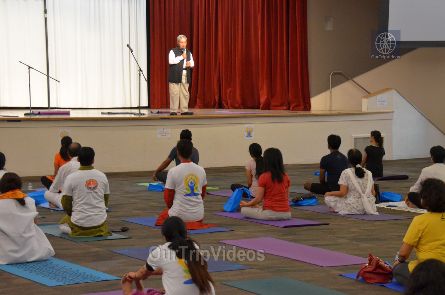 International Yoga Day at ICC, Milpitas, CA, USA - Picture 8 of 25