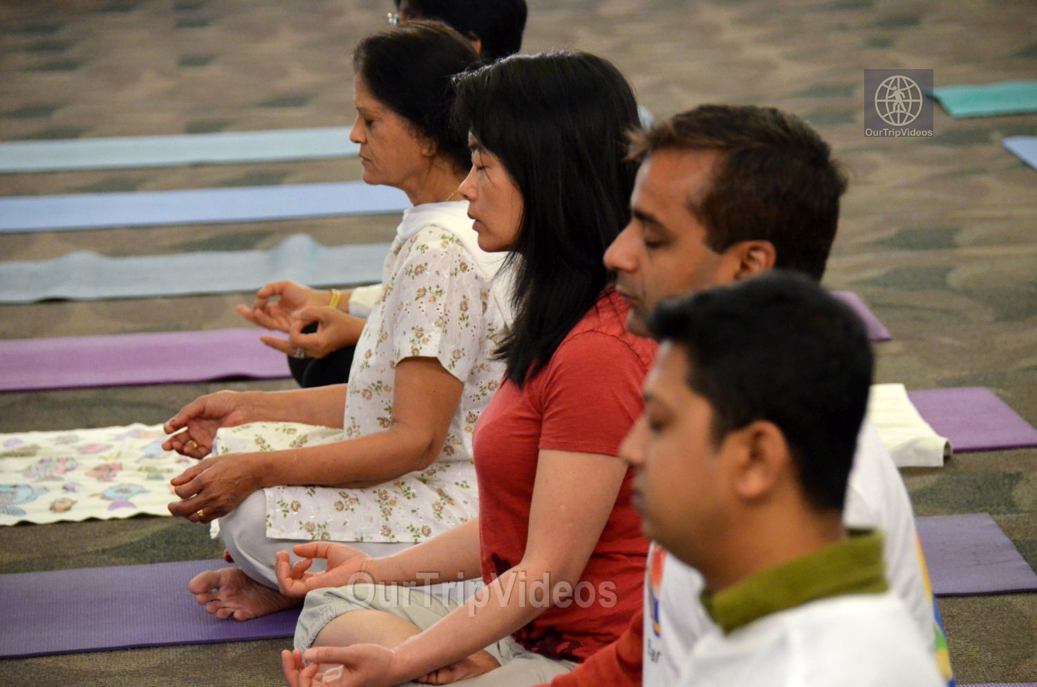 International Yoga Day at ICC, Milpitas, CA, USA - Picture 18 of 25