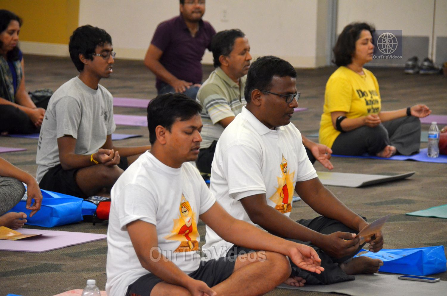 International Yoga Day at ICC, Milpitas, CA, USA - Picture 26 of 50