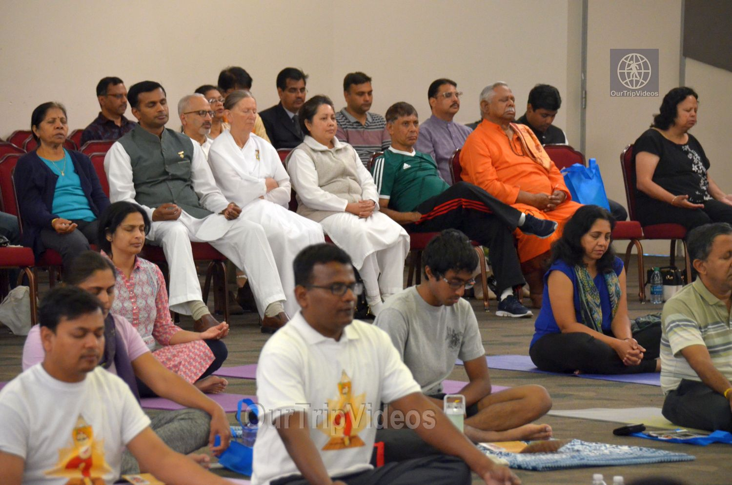 International Yoga Day at ICC, Milpitas, CA, USA - Picture 28 of 50