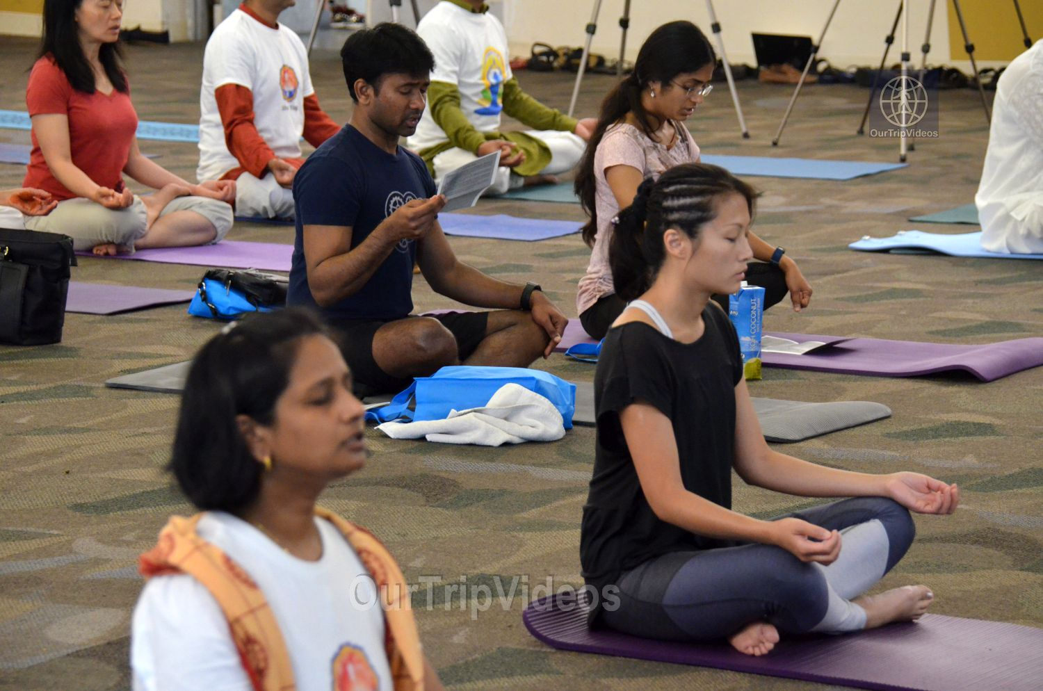 International Yoga Day at ICC, Milpitas, CA, USA - Picture 29 of 50