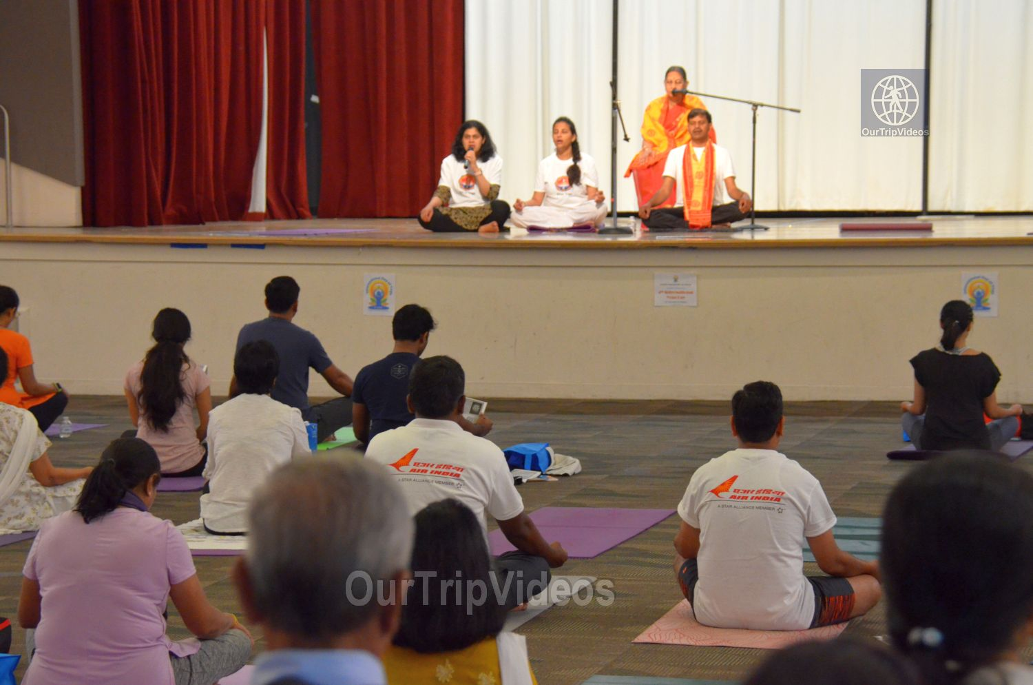 International Yoga Day at ICC, Milpitas, CA, USA - Picture 31 of 50
