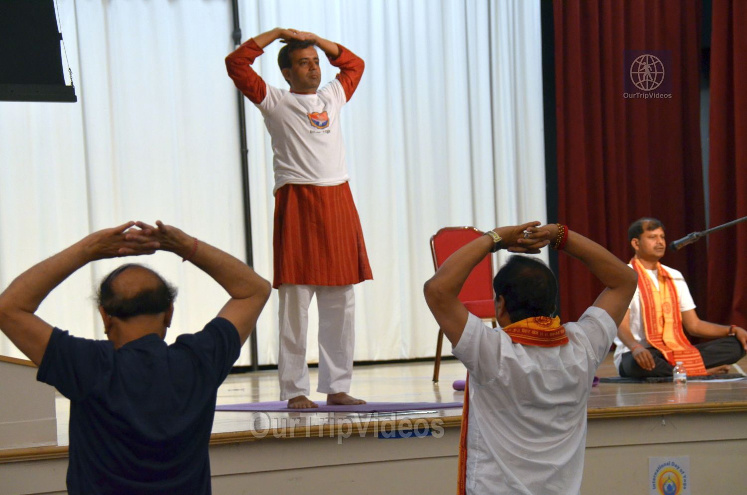 International Yoga Day at ICC, Milpitas, CA, USA - Picture 33 of 50