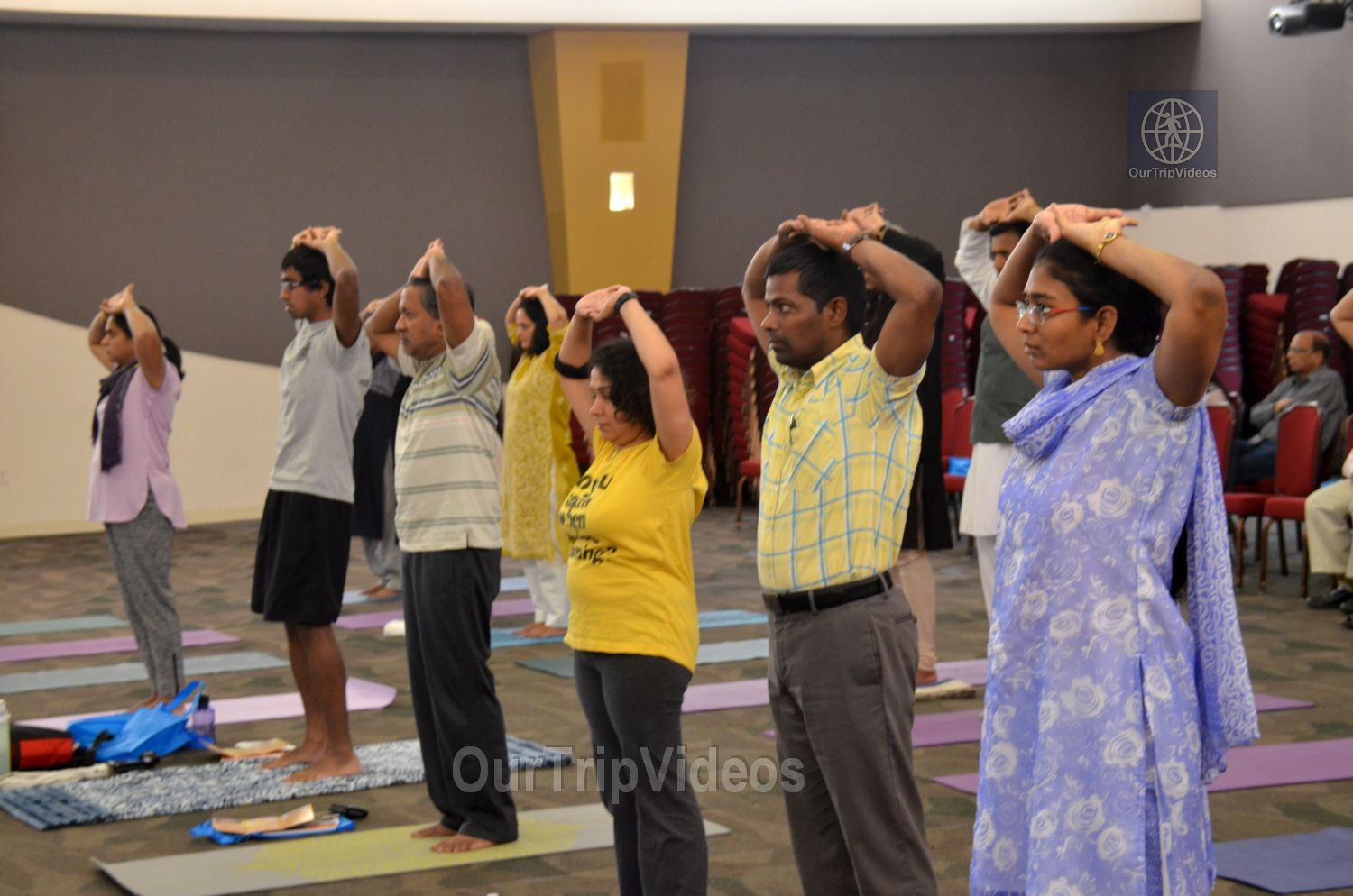 International Yoga Day at ICC, Milpitas, CA, USA - Picture 35 of 50