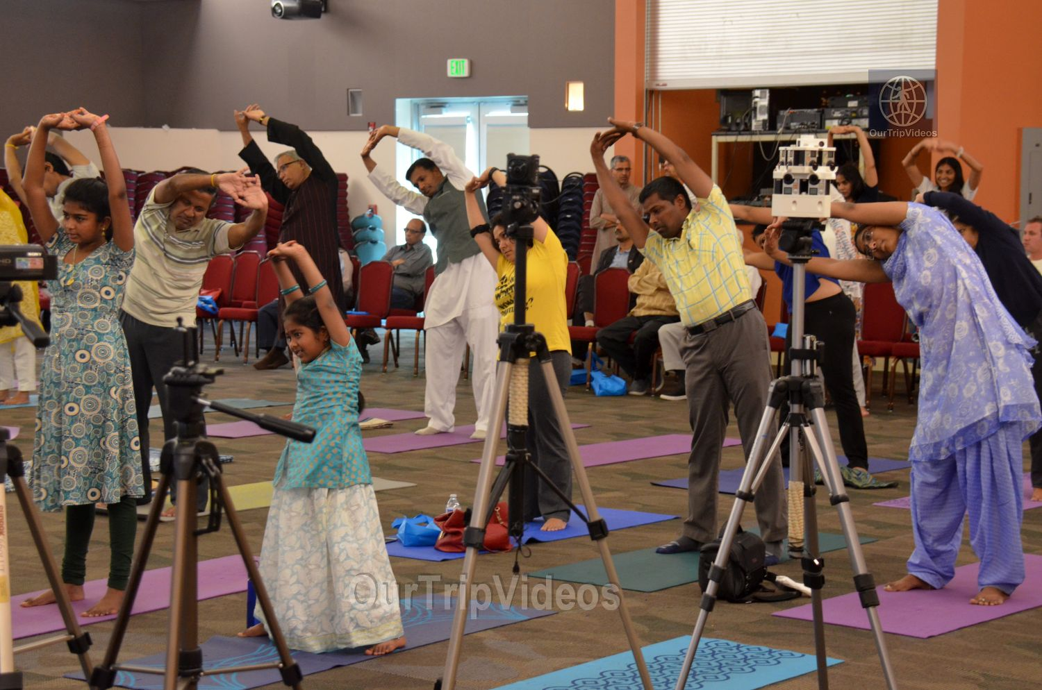 International Yoga Day at ICC, Milpitas, CA, USA - Picture 36 of 50