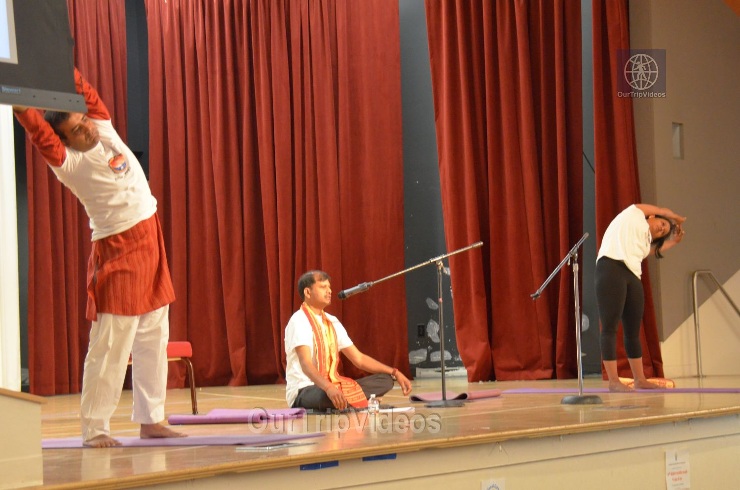 International Yoga Day at ICC, Milpitas, CA, USA - Picture 37 of 50