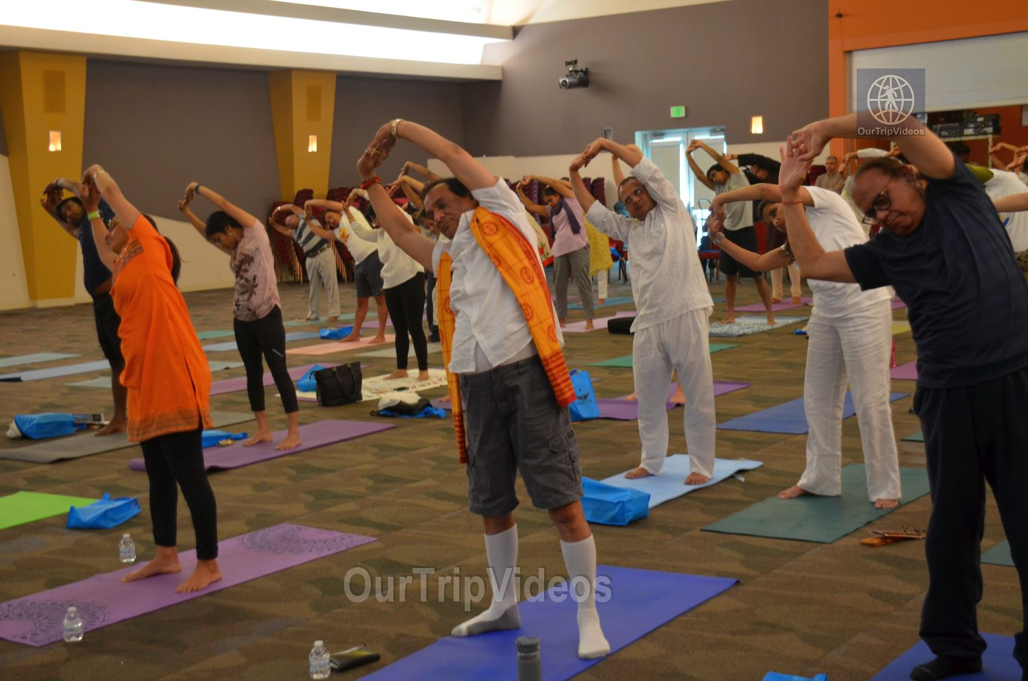 International Yoga Day at ICC, Milpitas, CA, USA - Picture 38 of 50