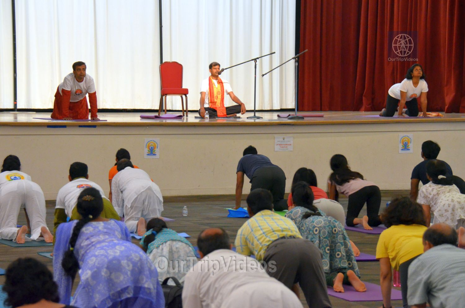 International Yoga Day at ICC, Milpitas, CA, USA - Picture 43 of 50