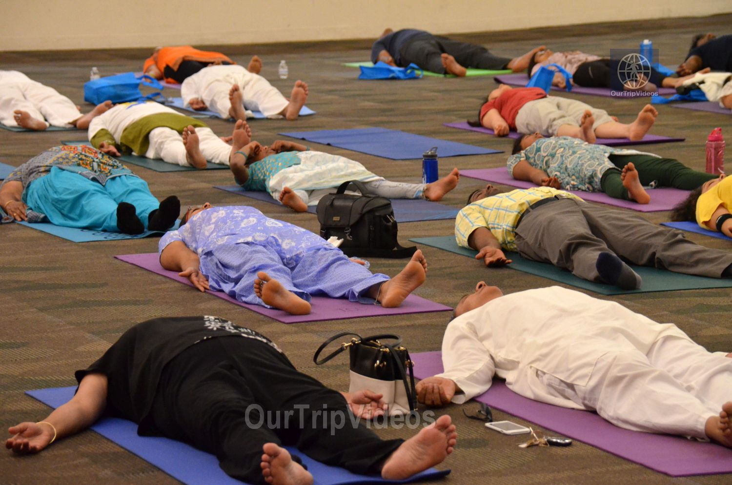 International Yoga Day at ICC, Milpitas, CA, USA - Picture 44 of 50