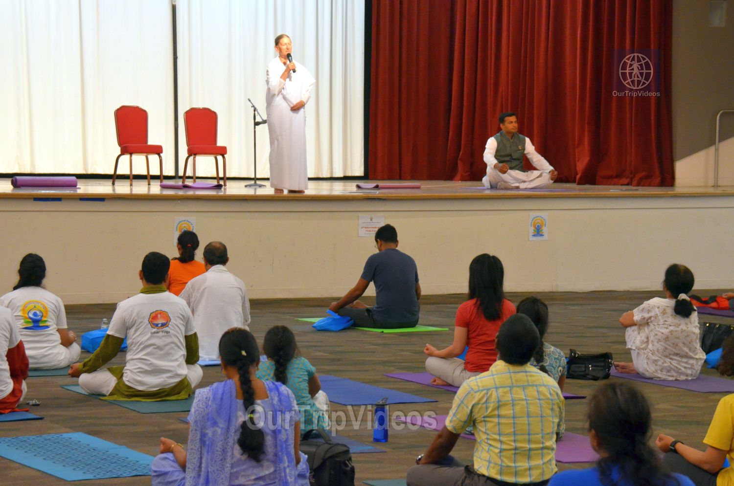 International Yoga Day at ICC, Milpitas, CA, USA - Picture 50 of 50