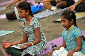 International Yoga Day at ICC, Milpitas, CA, USA - Picture 19
