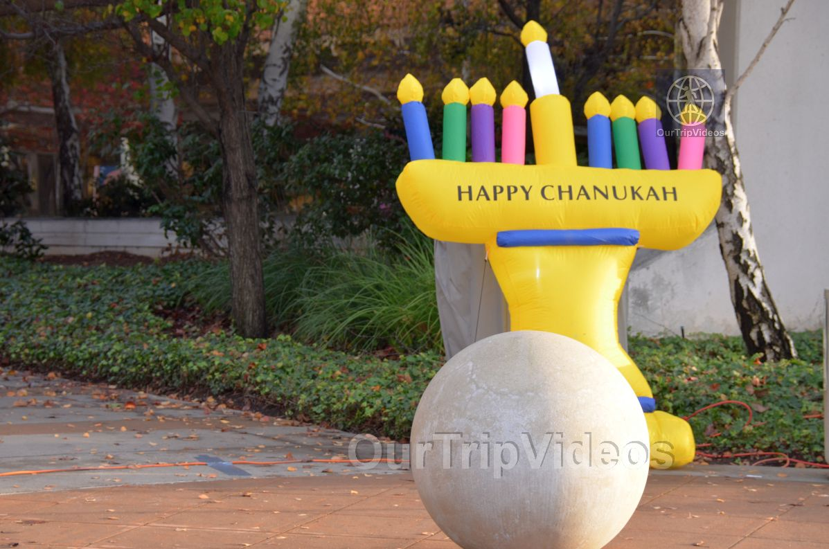 Annual Chanukah Lighting - Menorah of Warmth, Fremont, CA, USA - Picture 1 of 25