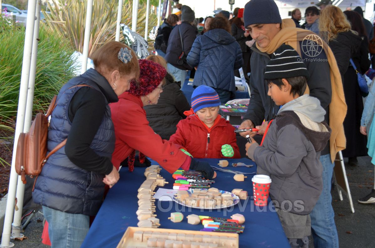 Annual Chanukah Lighting - Menorah of Warmth, Fremont, CA, USA - Picture 8 of 25
