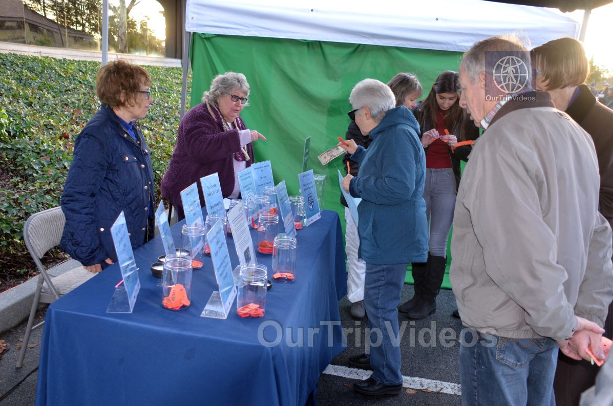 Annual Chanukah Lighting - Menorah of Warmth, Fremont, CA, USA - Picture 14 of 25