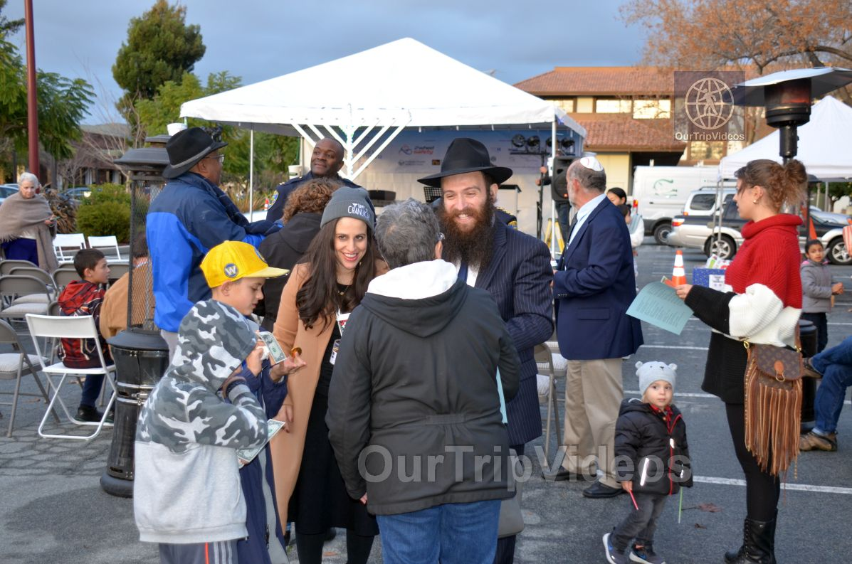 Annual Chanukah Lighting - Menorah of Warmth, Fremont, CA, USA - Picture 17 of 25