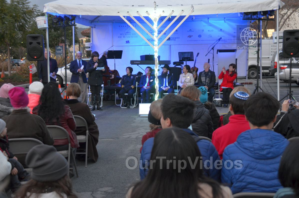 Annual Chanukah Lighting - Menorah of Warmth, Fremont, CA, USA - Picture 24 of 25