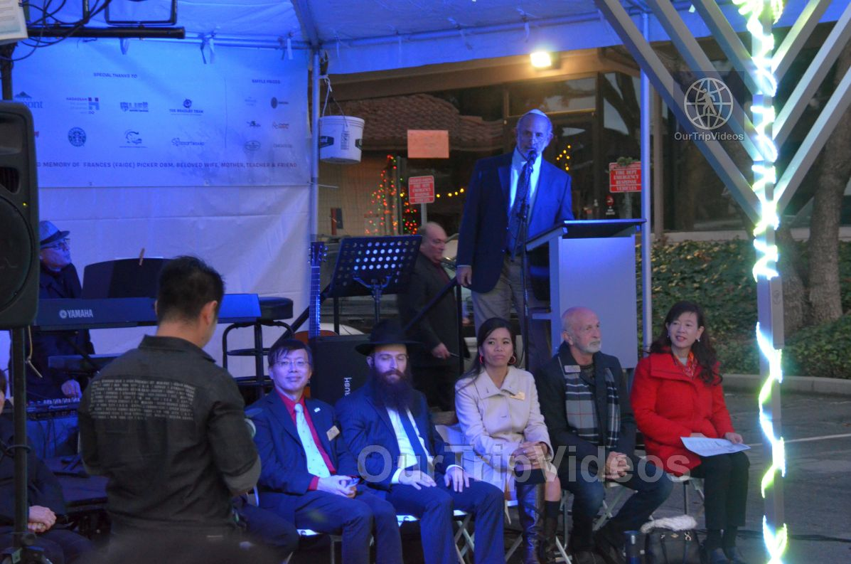 Annual Chanukah Lighting - Menorah of Warmth, Fremont, CA, USA - Picture 27 of 50