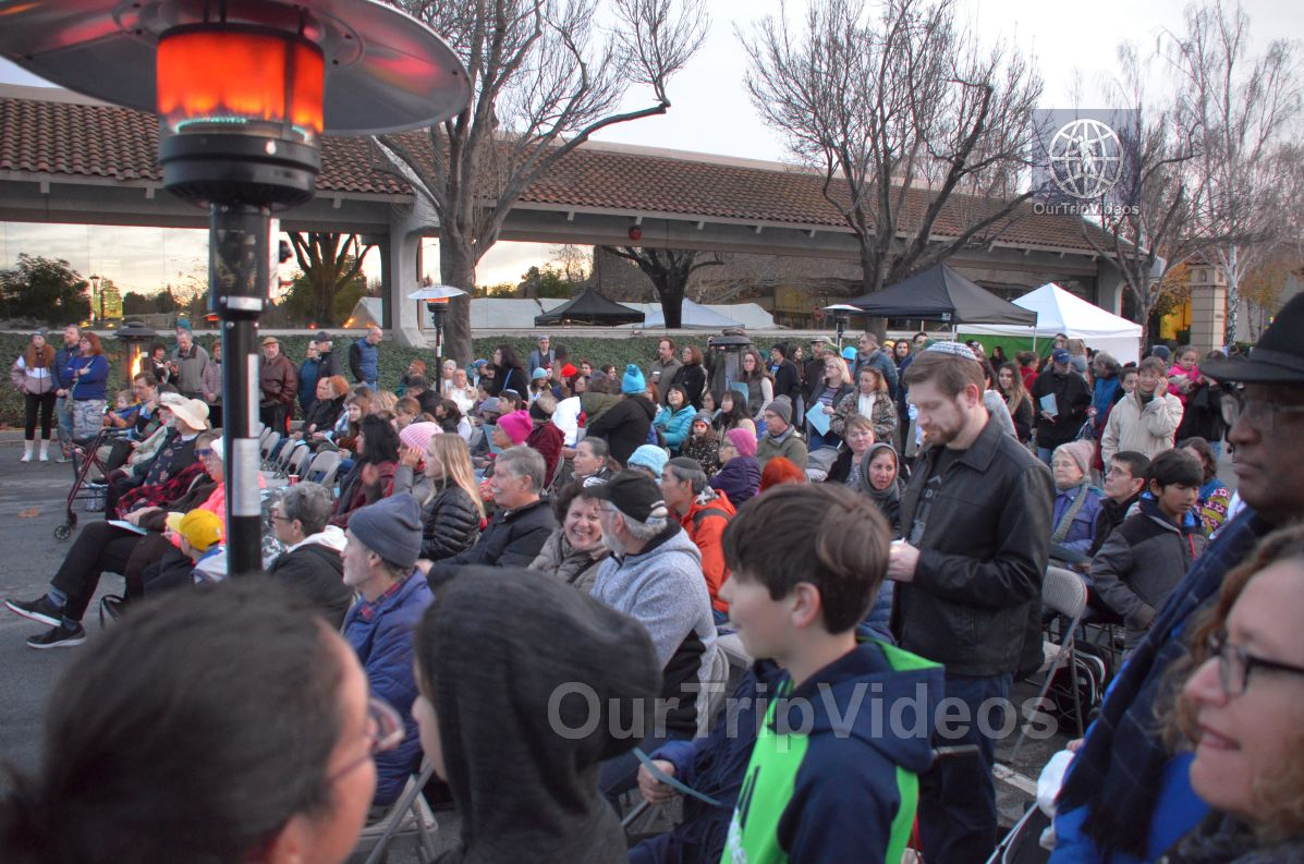 Annual Chanukah Lighting - Menorah of Warmth, Fremont, CA, USA - Picture 29 of 50