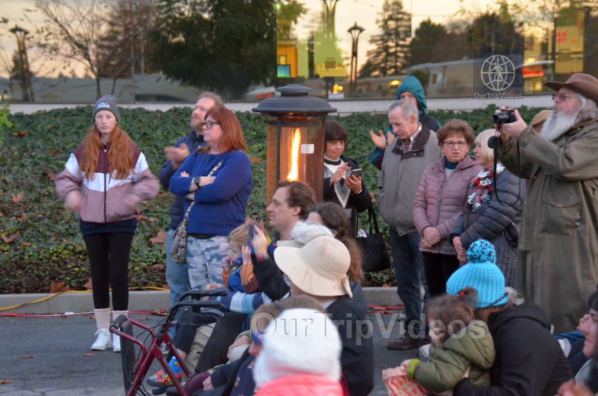 Annual Chanukah Lighting - Menorah of Warmth, Fremont, CA, USA - Picture 30 of 50