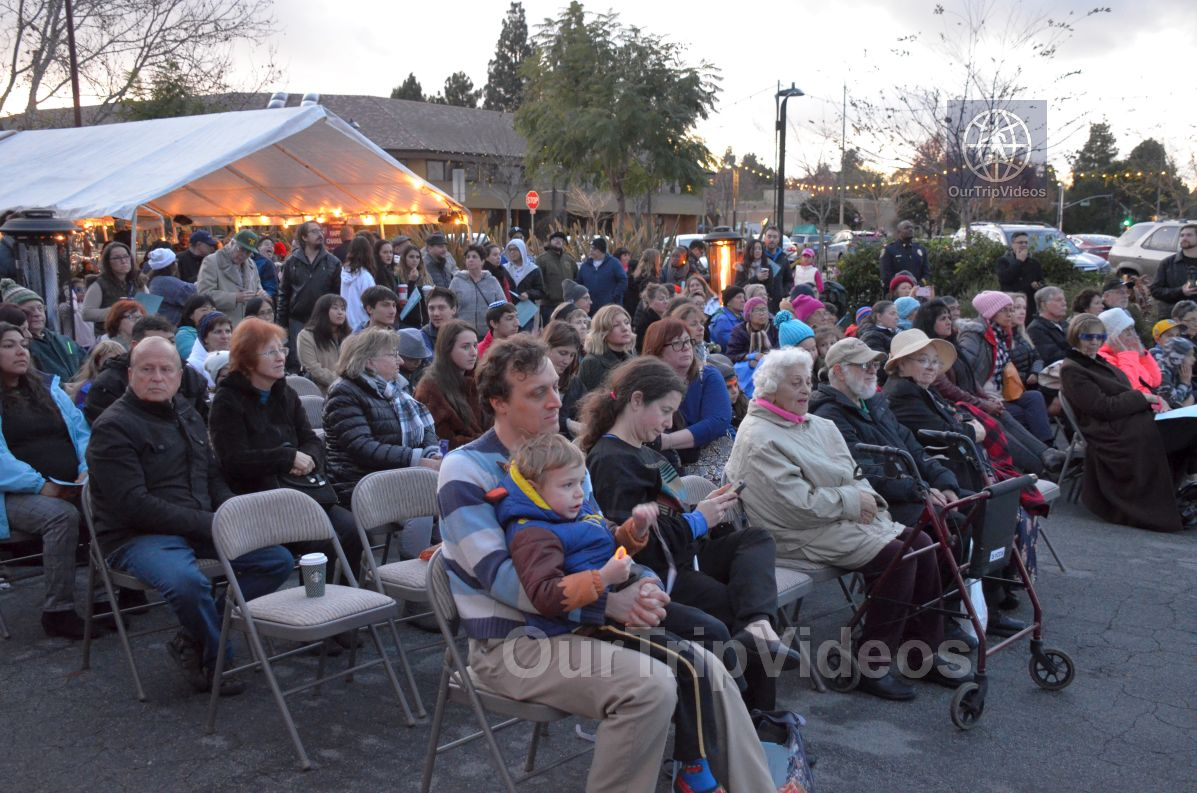Annual Chanukah Lighting - Menorah of Warmth, Fremont, CA, USA - Picture 34 of 50