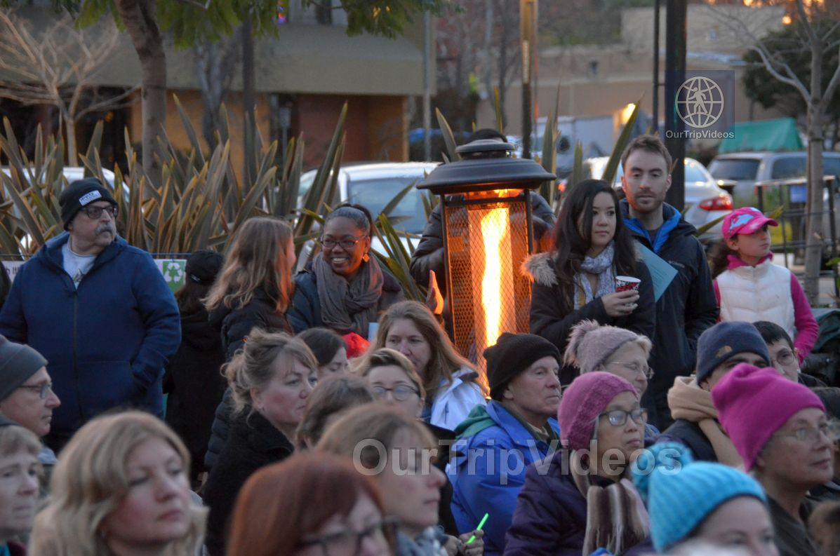 Annual Chanukah Lighting - Menorah of Warmth, Fremont, CA, USA - Picture 36 of 50