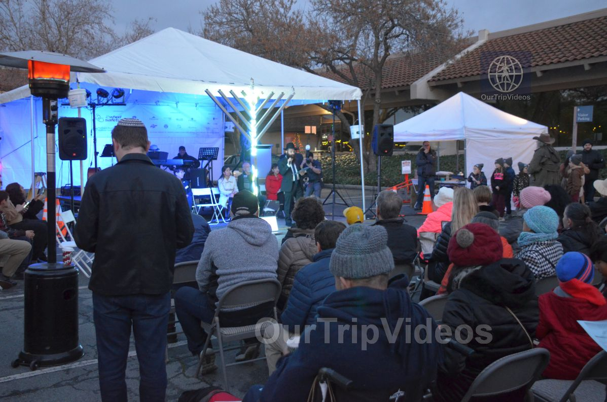Annual Chanukah Lighting - Menorah of Warmth, Fremont, CA, USA - Picture 37 of 50