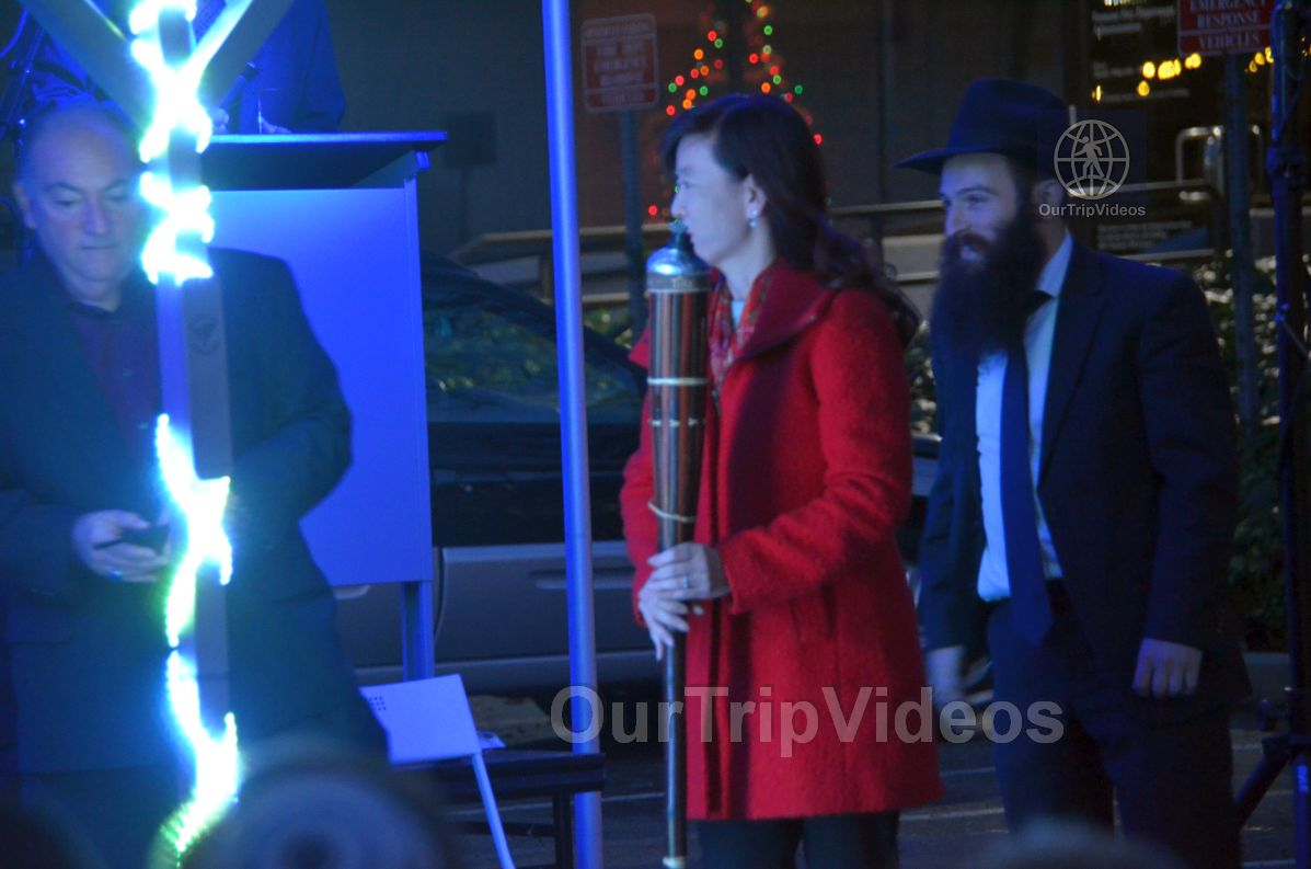Annual Chanukah Lighting - Menorah of Warmth, Fremont, CA, USA - Picture 39 of 50