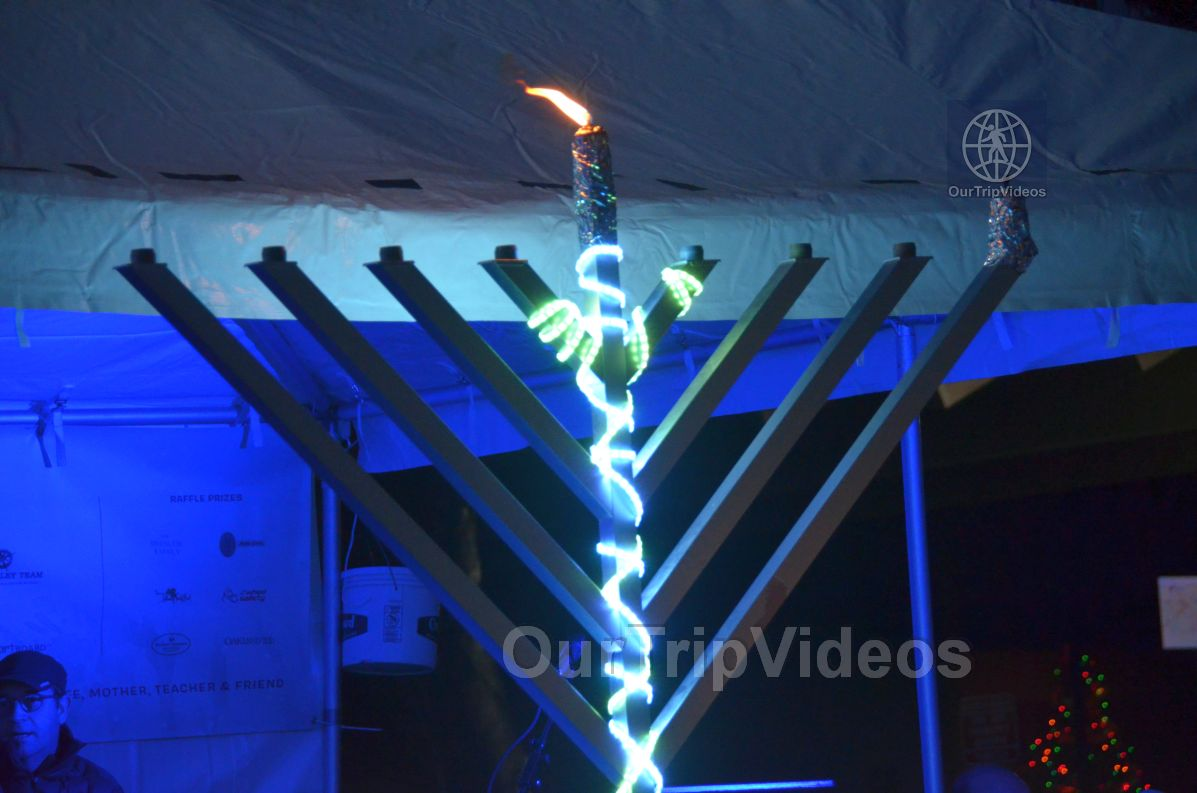 Annual Chanukah Lighting - Menorah of Warmth, Fremont, CA, USA - Picture 46 of 50