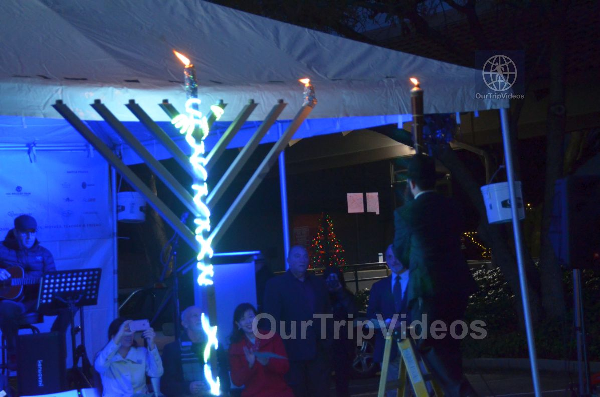 Annual Chanukah Lighting - Menorah of Warmth, Fremont, CA, USA - Picture 48 of 50
