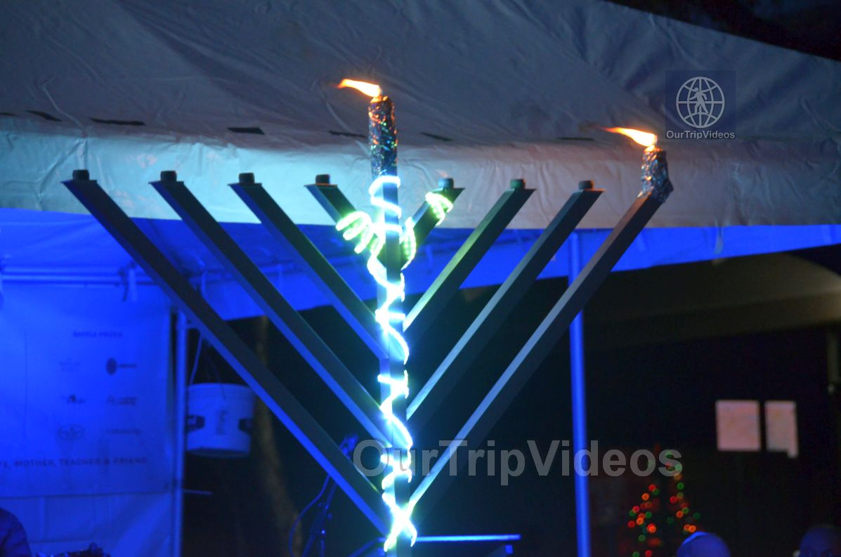 Annual Chanukah Lighting - Menorah of Warmth, Fremont, CA, USA - Picture 50 of 50