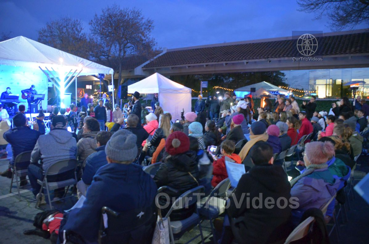 Annual Chanukah Lighting - Menorah of Warmth, Fremont, CA, USA - Picture 52 of 75