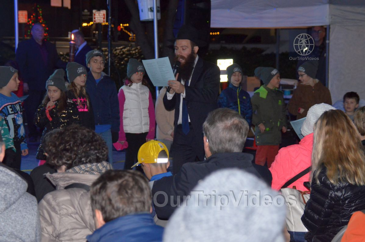 Annual Chanukah Lighting - Menorah of Warmth, Fremont, CA, USA - Picture 54 of 75