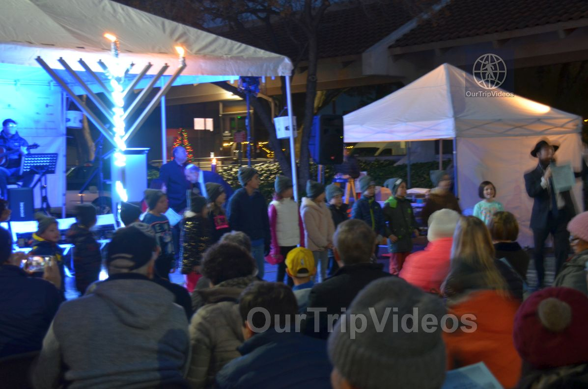 Annual Chanukah Lighting - Menorah of Warmth, Fremont, CA, USA - Picture 55 of 75