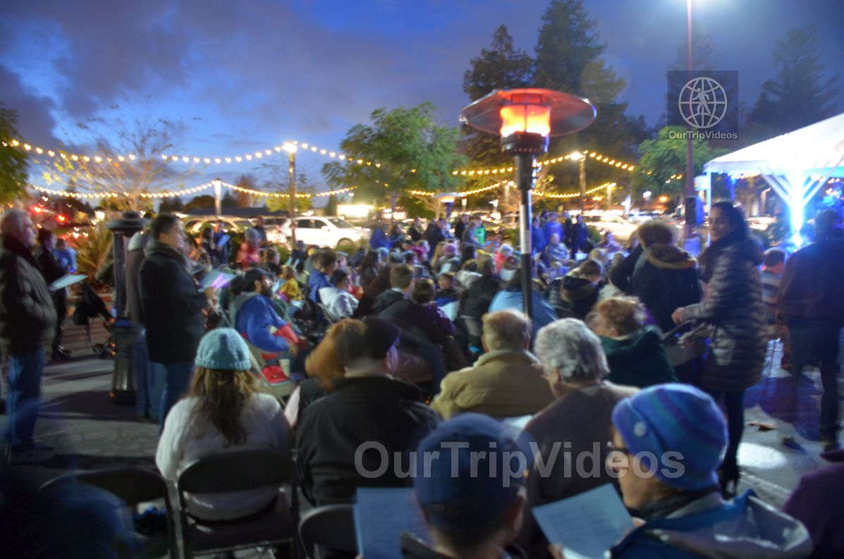 Annual Chanukah Lighting - Menorah of Warmth, Fremont, CA, USA - Picture 58 of 75