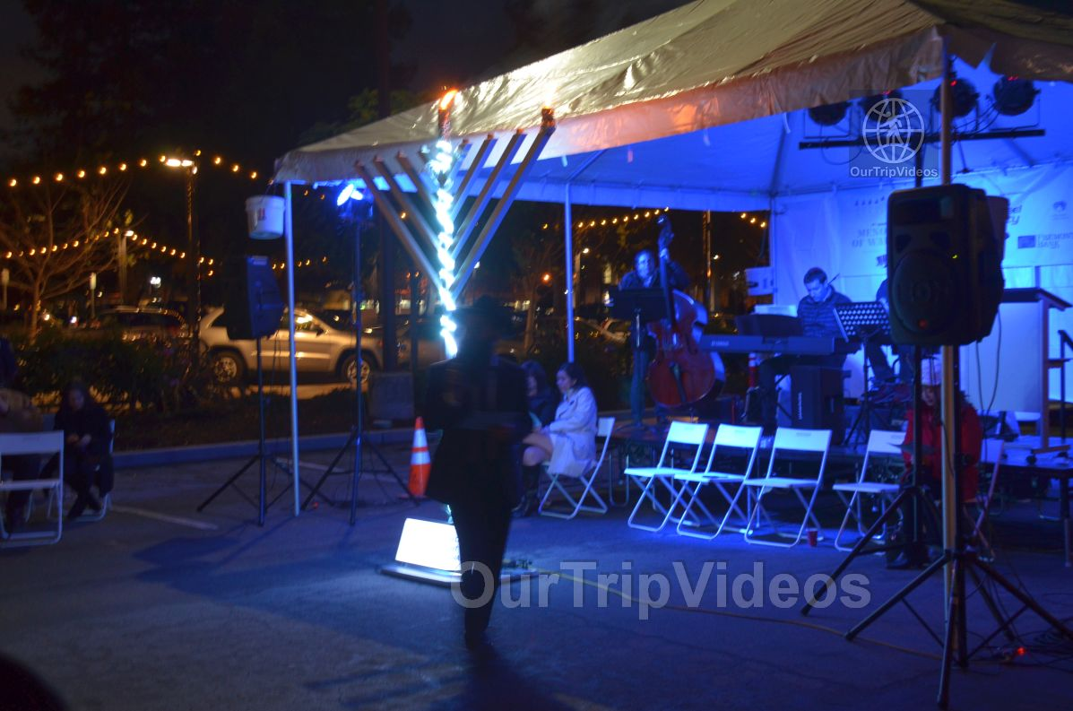 Annual Chanukah Lighting - Menorah of Warmth, Fremont, CA, USA - Picture 59 of 75