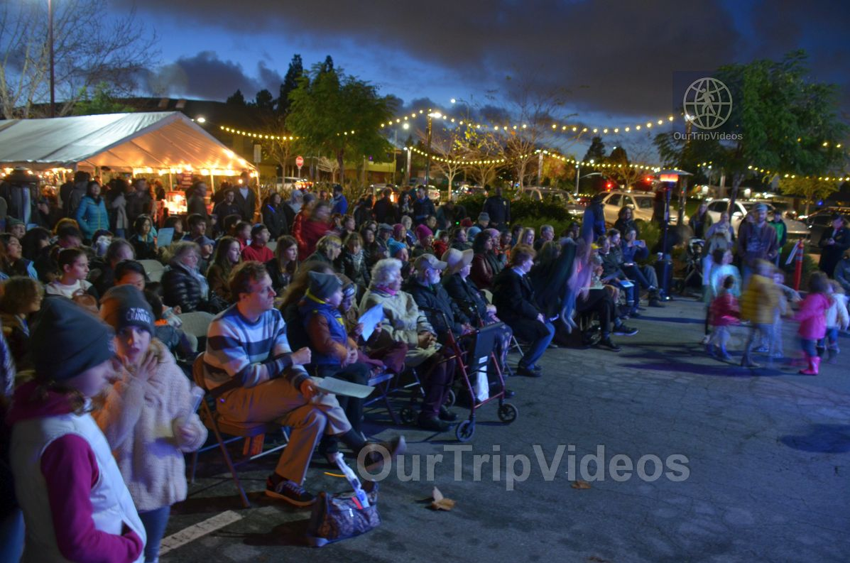 Annual Chanukah Lighting - Menorah of Warmth, Fremont, CA, USA - Picture 64 of 75