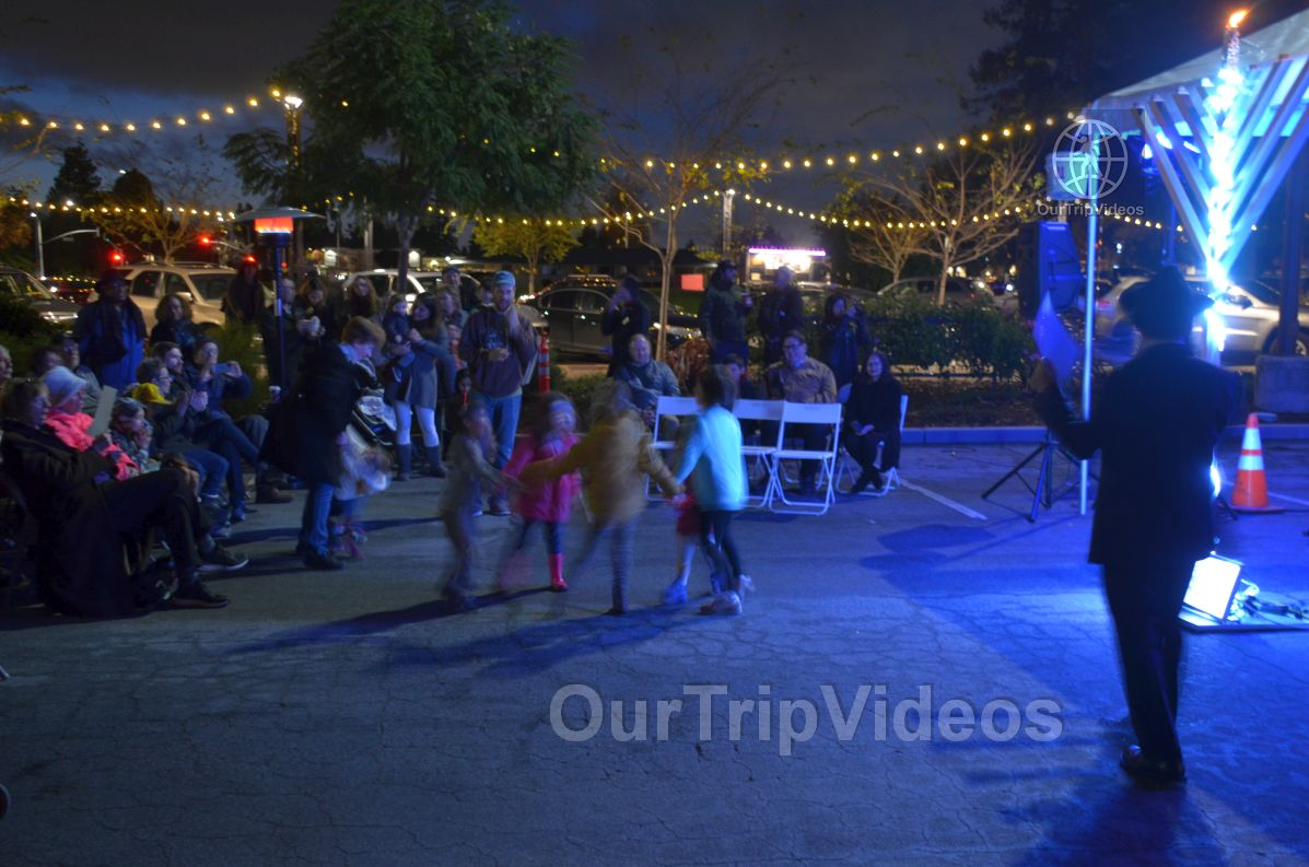 Annual Chanukah Lighting - Menorah of Warmth, Fremont, CA, USA - Picture 65 of 75