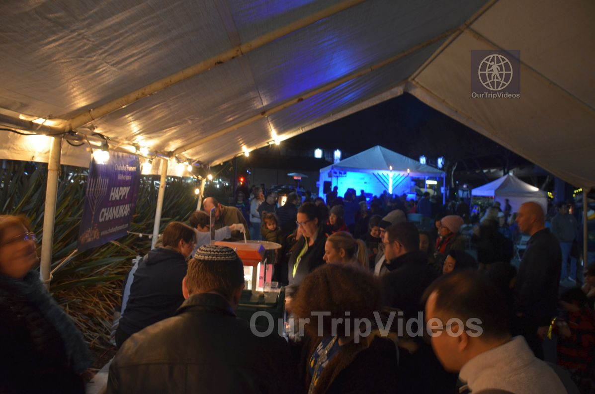 Annual Chanukah Lighting - Menorah of Warmth, Fremont, CA, USA - Picture 66 of 75