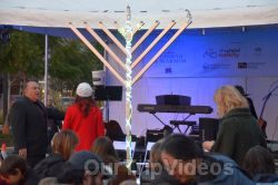 Annual Chanukah Lighting - Menorah of Warmth, Fremont, CA, USA - Picture 23
